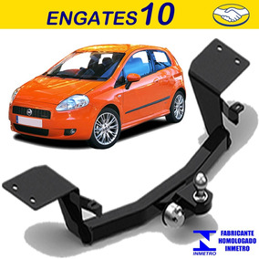Engate Reboque Rabicho Fiat Punto Sem Furo Exeto Blackmotion