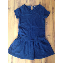 Vestido Tipo Jean, Next Importado, 12 Años Nena / Mujer