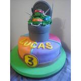 Tortas Decoradas Infantiles - Minions, Tortugas Ninja!!