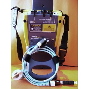 Escaneo A Fibra Óptica De 40-gigas Con Fluke Dtx-1800