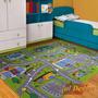 Carpeta Alfombra Calles Pista 140x200cm Infantil Fundasoul 6