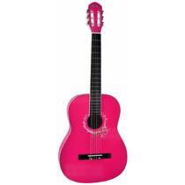 Violão Acústico Nylon Memphis Ac-39 Rosa/lilás + Capa