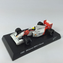 1992 Fórmula 1 Mclaren Mp4/7 Honda Ayrton Senna 1:64 Kyosho