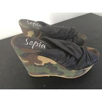 Zapatos Con Plataforma Divinos