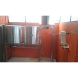 Estructura Para Fabricar Cerveza Artesanal Bloque Coccion