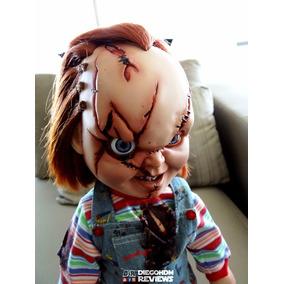 Sideshow Chucky Battle Damaged 38cm Customizado Super Raro