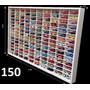 Estante Expositor Hot Wheels 150 Nichos Carrinhos Miniaturas