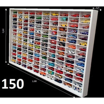 Estante Expositor Hot Wheels 150 Nichos Carrinhos Miniaturas