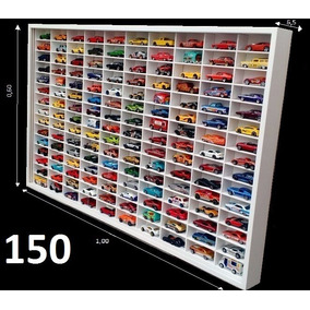 Estante Expositor Hot Wheels 150 Nichos Carrinhos Minis 1;64