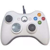 Control Gamepad Xbox 360 Pc Alambrico Blanco Envio Gratis