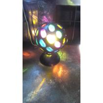Luces Luces Miniteca Luz Dj Varios Colores Giratoria