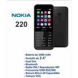 Telegono Celular Nokia Modelo 220 Liberado Doble Sim