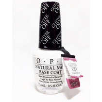 Opi Natural Base Coat Glitter Off Imp. Usa