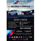 Reparación, Diagnóstico De Autos Y Motos A Domicilio.