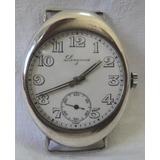 Antiguo Raro Reloj Longines Pulsera Plata Cal 13.82 Año 1914