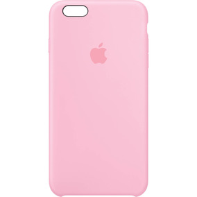 Funda Silicone Case Silicona Pink Rosa Iphone 6 6s Plus