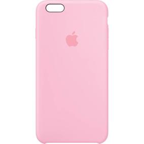 Funda Silicone Case Silicona Pink Rosa Para Iphone 6 6s Plus