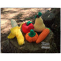 Frutas Y Verduras Tejidas Al Crochet. Artesanales