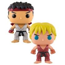 Coleção Street Fighter Ryu E Ken - Funko Pop!