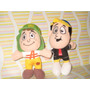 Coleccion El Chavo (chavo Y Quico ) Mc. Donalds 2011