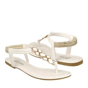 Furor Zapatos Dama Piso 11432 Simipiel Blanco