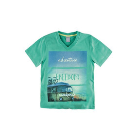 Camiseta Infantil Masculina Decote V Hering Kids 5cb1wqf10