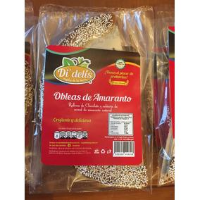 Oblea De Amaranto Didelis Rellena De Delicioso Chocol.2 Pza