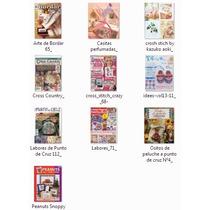 10 Revistas Para Manualidades En Punto De Cruz (lote 2)