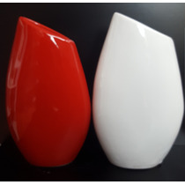 Florero Gota Chico Ceramica Esmaltada- Decoracion Del Hogar