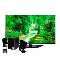 Pantalla Lg Led Tv 720p 32 60hz Hdmi 32ln530b Bocina Pixxo