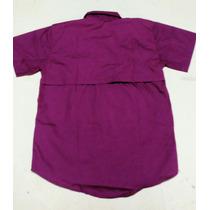 Camisas Caballero Estilo Columbia Vinotinto