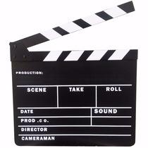 Claquete Internacional Para Personalizar Estúdio De Cinema