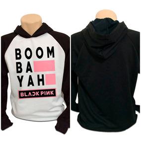 Blusa Moletom Kpop K-pop Blackpink Boom Bah Yah
