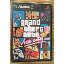 Grand Theft Auto Vice City Ps2 Sony Playstation 2