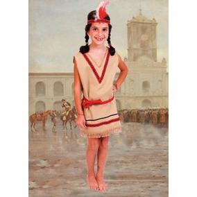 Disfraz De India Talle 4 9/10 Añoscandela Local Belgrano R