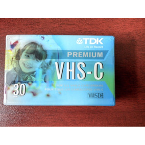 Cassette Tdk Vhs - C Cinta Premium Para Cámara Filmadora