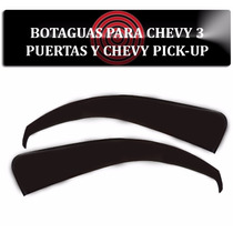 Botaguas Chevy 3 Puertas Y Pickup Deflector Ventana