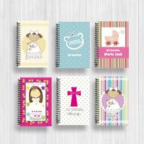 Bautizo, Primera Comunión, Cuadernos Personalizados