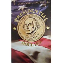 Álbum Estados Unidos 38 Monedas 1 Dolar Presidentes 2007/16