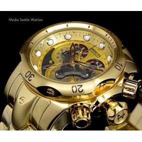 Relógio Invicta 14462 Venom Banho De Ouro 18k Original