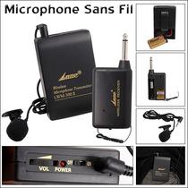 Microfono Inalambrico Lavalier Corbata Balita Solapa 30mts
