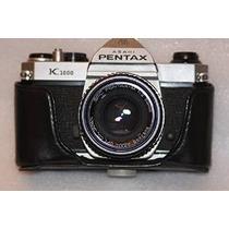 Pentax K1000 Con 50mm (f / 2.0) Lente