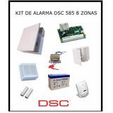 Kit De Alarma Dsc 585 8 Zonas Llamador - Rosario - Oferta!