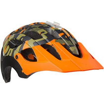 Casco Lazer Revolution Camo Mate T.medium Enduro Nuevo