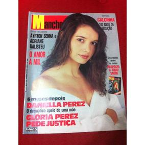 Revista Manchete Daniela Perez Senna Adriane Fernanda Monte