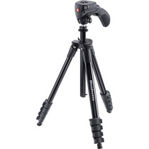 Manfrotto Tripie C/cabeza Compact Act. (mkcompactacn-bk)