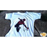 Remera Comic Spiderman Ironman Hulk Capitan America Batman