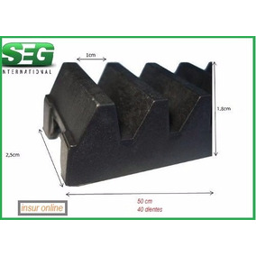 Repuesto Cremallera Seg Reforzado Porton Corredizo 50 Cm