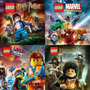 Ps3 Lego Marvel + Senhor Dos Aneis + Harry Potter + Movie