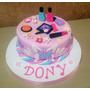 Tortas Decoradas Infantil Maquillaje Nenas Xkg Deco Incluida